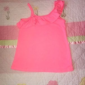 Size 7 Carters Tank. Pink.
